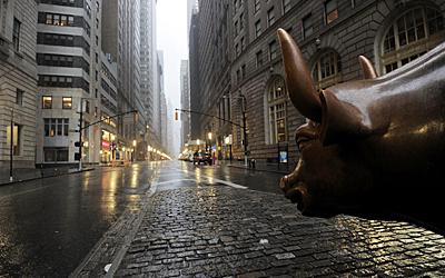 Bull in Wall Street